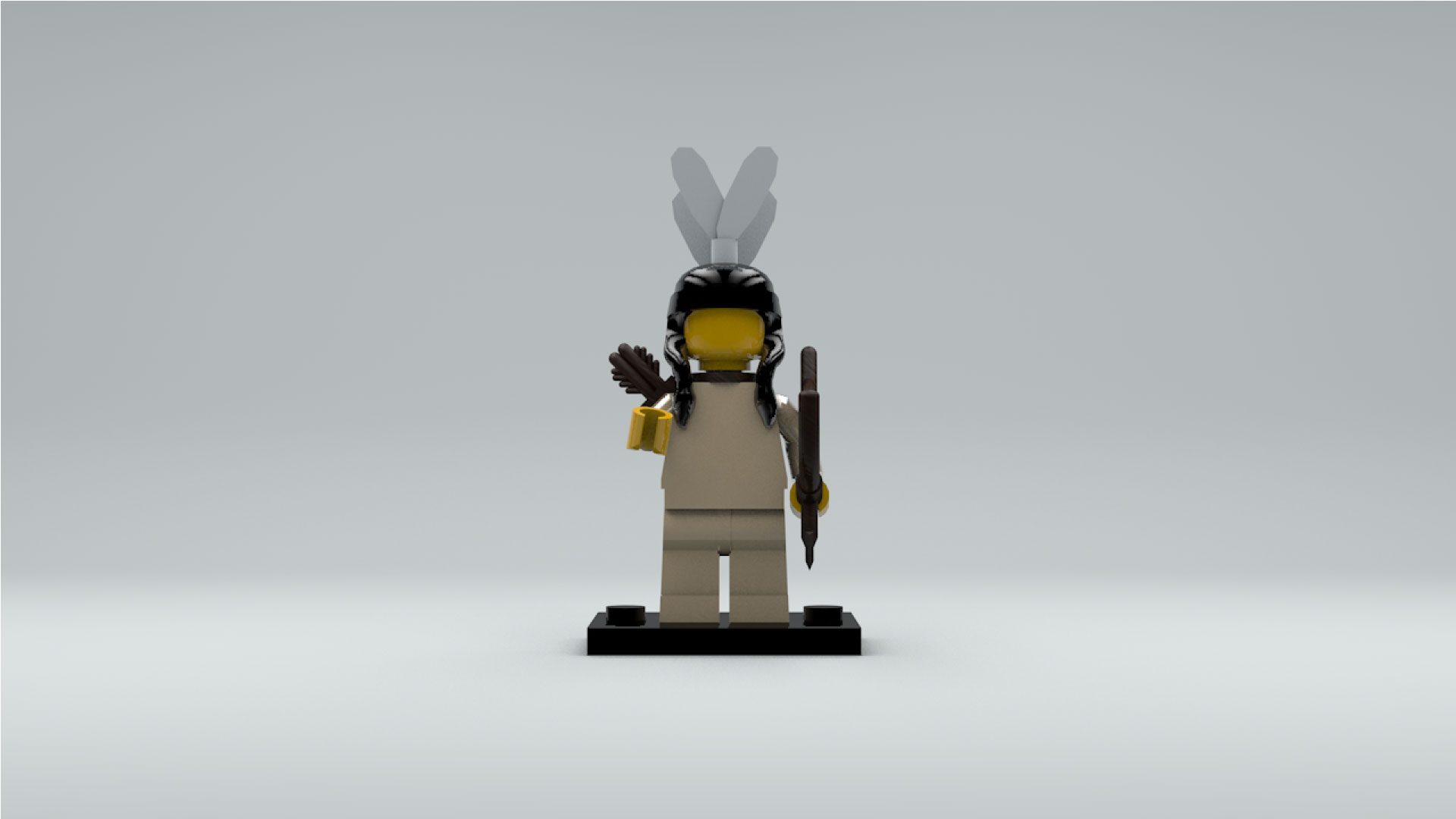 Tribal Hunter, Minifigure Series 1